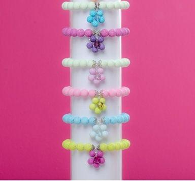 DIY Ideen für Blumenarmbänder mit Polaris Perlen