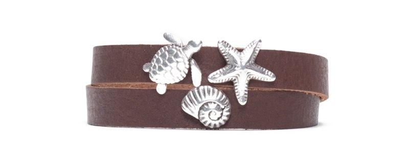 Armband mit Screws Meerestiere