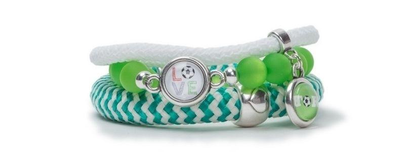 Vereinsfarben Grün-Weiß