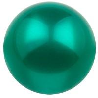 Polarisperle glänzend, rund, ca. 14 mm, türkisgrün