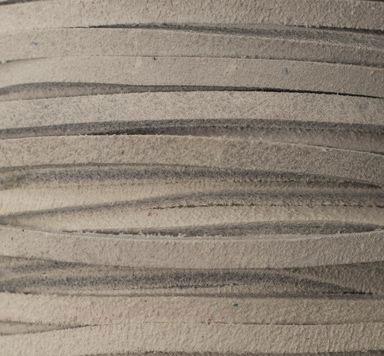 Velourlederband Rauhleder 2 x 3,2 mm