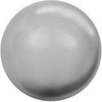 Swarovski Crystal Pearl, rund, 4 mm, grey