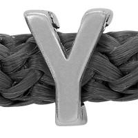 Grip-It Slider Buchstabe Υ, für Bänder bis 5mm Durchmesser, versilbert