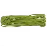 Band wildlederoptik, 3 x 1 mm, Länge 5, hellgrün