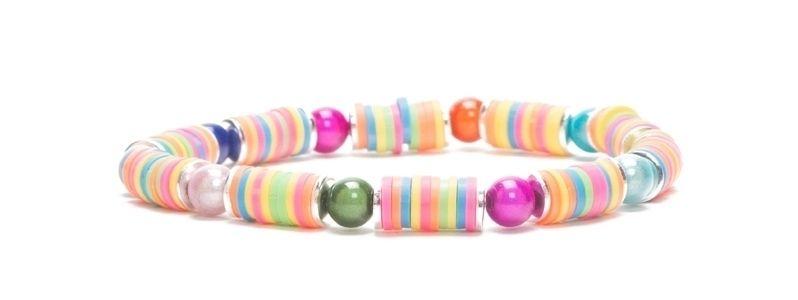 Armband mit Katsuki Perlen Candy