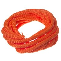 Segelseil / Kordel, Durchmesser 5 mm, Länge 1 m, orange