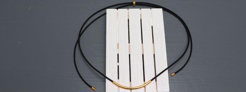 Clean Chic verstellbare Kautschukkette mit Röhre