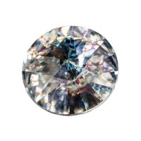Swarovski Rivoli (1122), SS39  (ca. 8 mm), crystal white patina