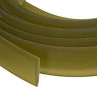 Flaches PVC-Band 10 x 2 mm, olivgrün, 1 m