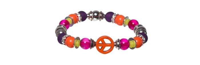 Armband Oriental Orange