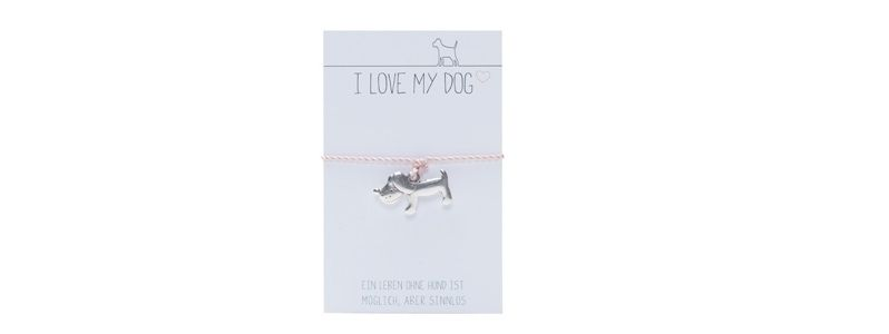 Wunscharmband Hund