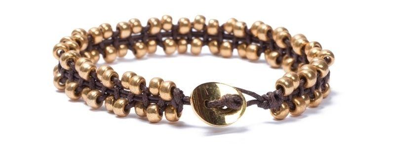 Armband  Rocailles-Makramee