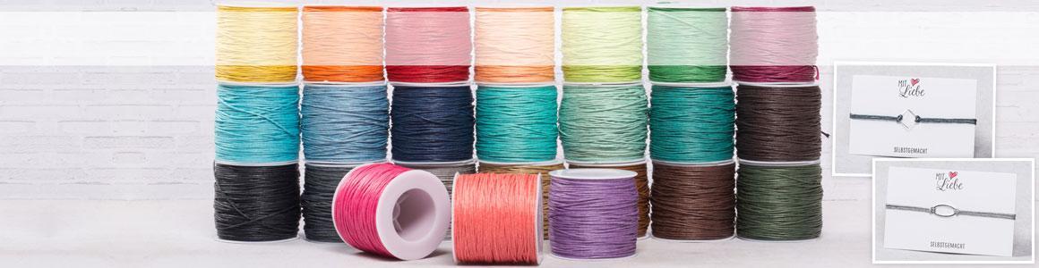Baumwollband 1 mm Großpakete
