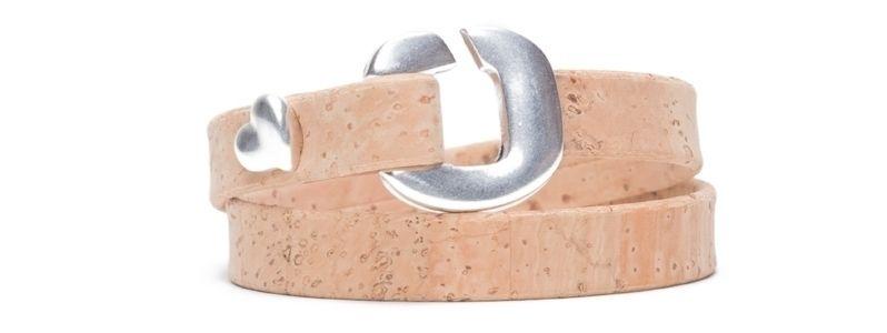 Armband mit Screws S-Haken Herz Klein