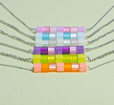 Süße Würfelkette mit Polaris gala sweet