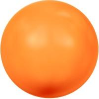 Swarovski Crystal Pearl, rund, 6 mm, neon orange