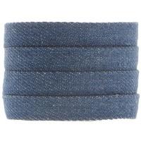 Denim Baumwollband, dunkelblau, 10 x 2 mm, Länge 1 m