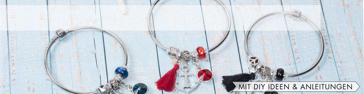 Polarisperlen Beads Linse glänzend