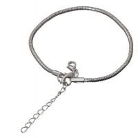Armband, silberfarben für Polaris Beads, 2,5 mm