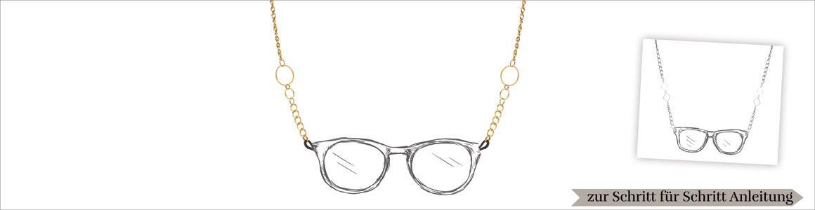 Geometrische Brillenketten