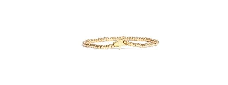 Goldschöne Armbänder Stern