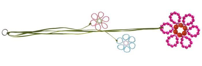 Fensterdeko Blume Himbeer