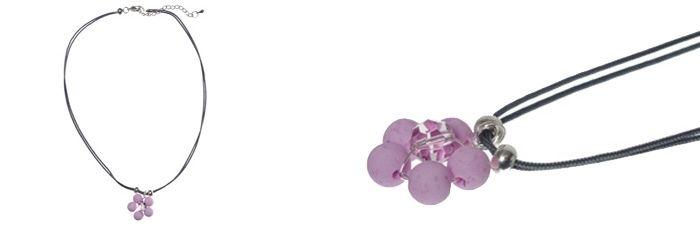 Süßer Blumenanhänger Amethyst