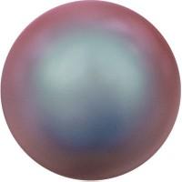 Swarovski Crystal Pearl, rund, 8 mm, iridescent red