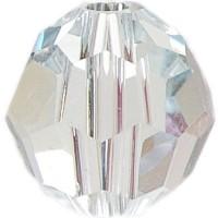 Swarovski Elements, rund, 6 mm, light azore