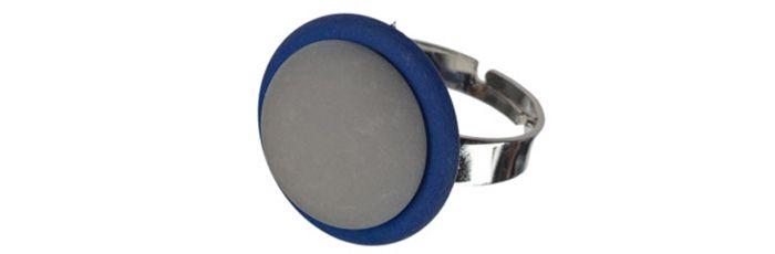 Ring Blau-Grau