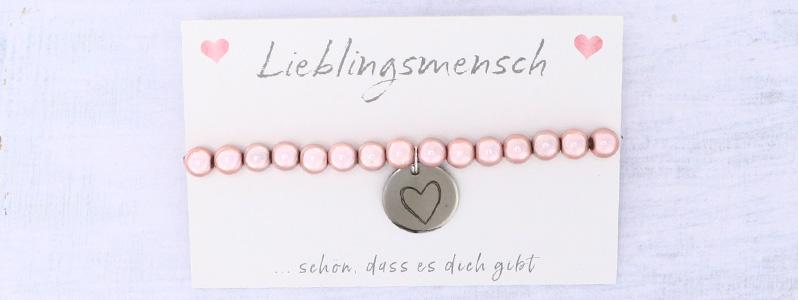 "Valentinstagarmband ""Herz"""