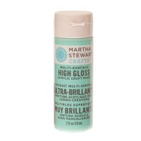 Martha Stewart Multi Surface Acryl-Farbe, beach glass, 59 ml