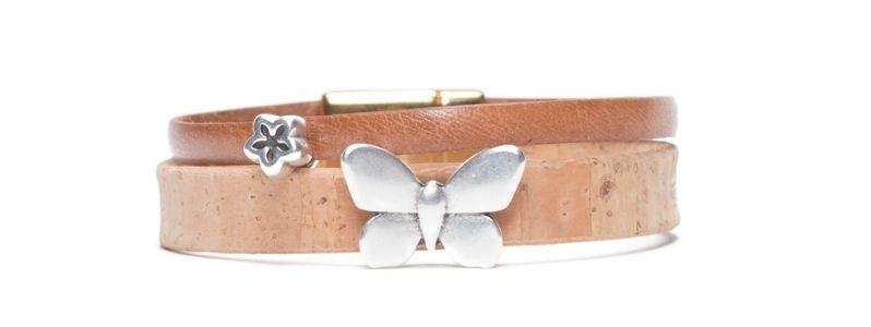 Armband mit Screws Schmetterling