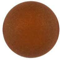 Polarisperle, rund, ca. 6 mm, dunkelbraun