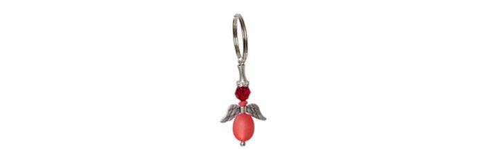 Schlüsselengel Rot