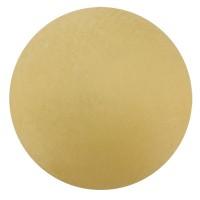 Polarisperle, rund, ca. 10  mm, hellgelb