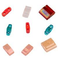 Miyuki Tila Bead Mix 5 mm, Island Hopper, assorted sizes, Röhrchen mit ca. 7,2 gr