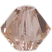 Swarovski Elements Bicone, 4 mm, light peach