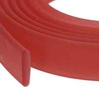 Flaches PVC-Band 10 x 2 mm, kirsche , 1 m