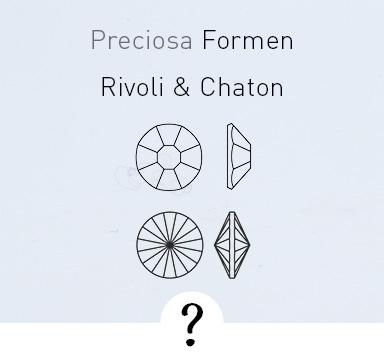 Was sind Rivoli, Chatons und Flatbacks?