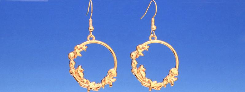Ohrringe für Meerjungfrauen mit Seepferdchen