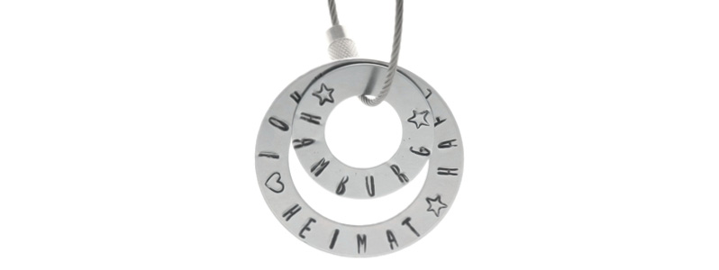 DIY Anleitung für einen Metal Stamping Schlüsselanhänger