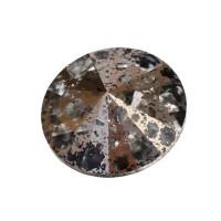 Swarovski Rivoli (1122), SS39  (ca. 8 mm), crystal rose patina