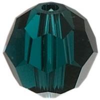 Swarovski Elements, rund, 8 mm, emerald