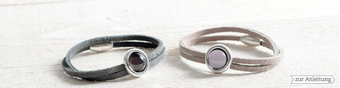 Velourlederband Rauhleder 2 x 2,8 mm