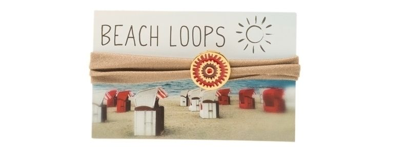 Beach Loop Ethno Braun