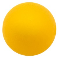 Polarisperle, rund, ca. 6 mm, sonnengelb