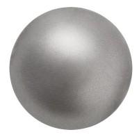 Preciosa Nacre Pearl Round Maxima, 6 mm, dark grey