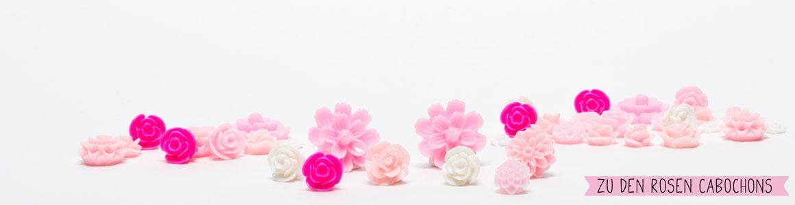 Ideen für Blumencabochons