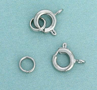 Spring-Ring-Verschlüsse